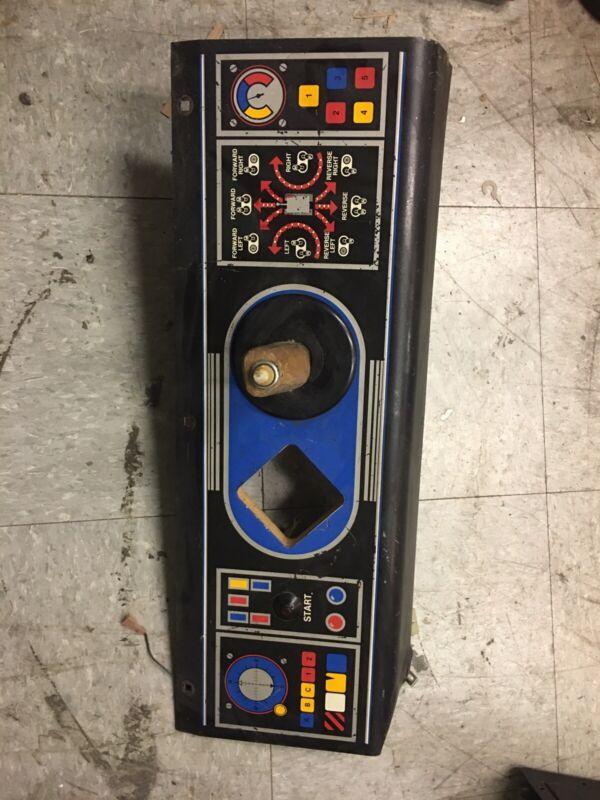 Battlezone video arcade game control panel, Atari 1980