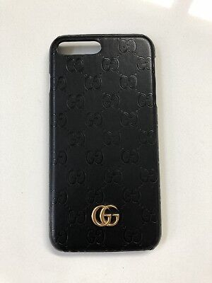 GUCCI CASE For Iphone 7 / 8 Plus Black With Logo