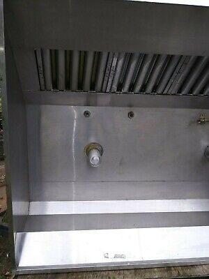 Type-1 6 Captive Aire Hood System With Make Up Air Model 5424 Nd2