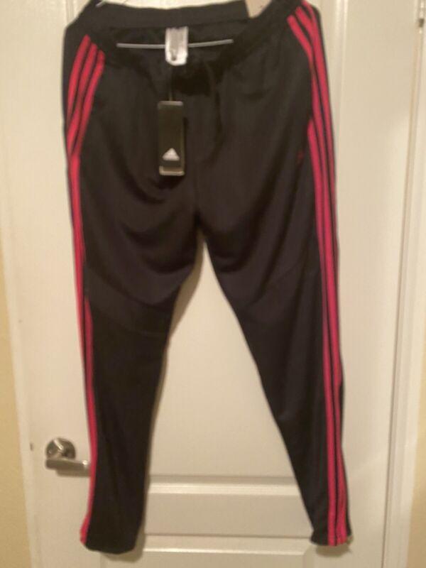 Adidas Tiro 19 Multi Sport Soccer Training  Pants Black Hot Pink Women's Sz XL