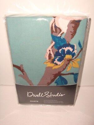 DwellStudio Juliette Jade S/2 Euro Shams NIP Floral Cotton