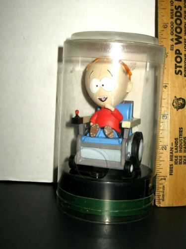 Rare 2006 South Park TIMMY Talking Figure in Wheelchair works