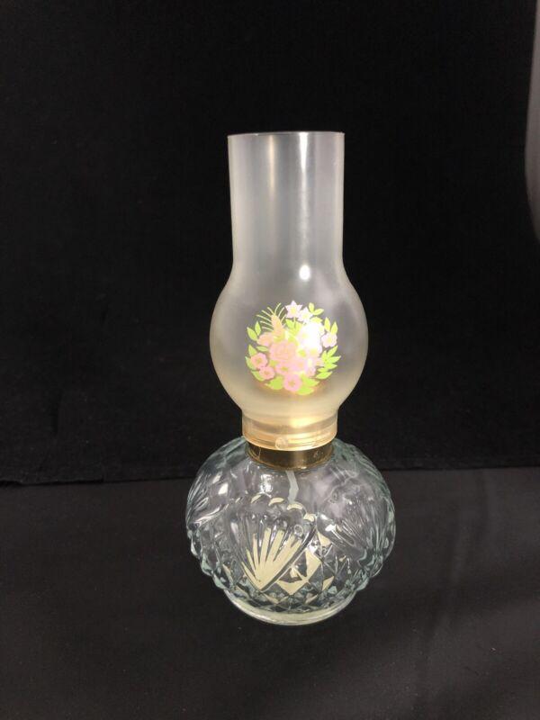 """Avon """"Oil Lamp"""" Perfume Bottle Sonnet Cologne Mist 2 oz  Vintage-Empty"""