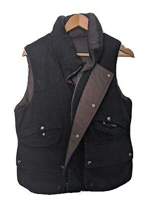 UNIQLO +J JIL SANDER Wool Down Vest Reversible Black Size Small Men