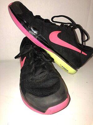 b9fce12bec66 Nike Zoom Air Vapor Flyknit Sz 13 Black 845797-007 Roger Federer Tennis Volt
