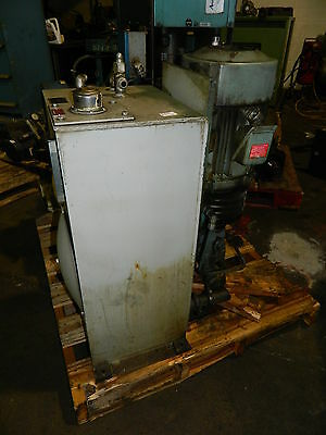 5 Hp Hydraulic Unit W Vickers Pump Type Pvb15rsy31cm11 Vertical Used