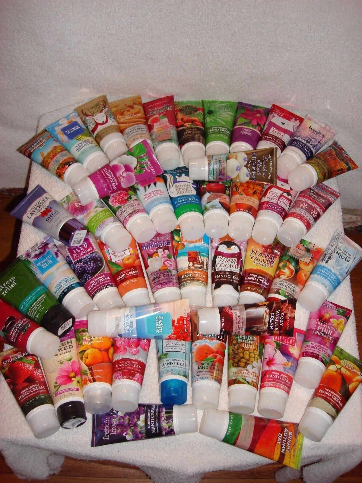 Bath Body Works Hand Cream Set - Your Choice - Travel Size -
