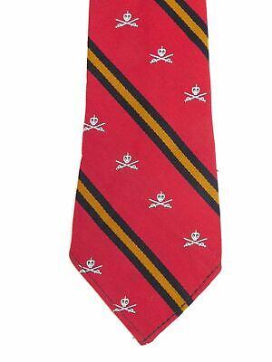 1950s Men's Ties, Bow Ties – Vintage, Skinny, Knit Vintage 1950s mens prep school tie $10.00 AT vintagedancer.com