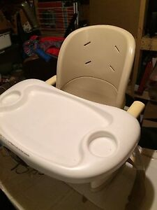 Booster chair feeding seat.  Fisher Price space saver.