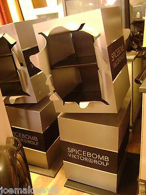 RETAIL BOMB BOMBSHELL EXPLODE STYLE SPICEBOMB GREY  SHELVING FLOOR DISPLAY