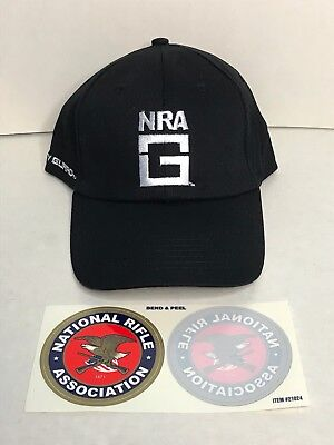 buy online 30e5b e0d9b New 2019 NRA Carry Guard Member Promo Hat Cap   (2) NRA Decals Stickers