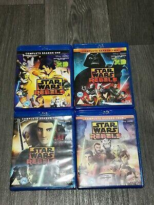 Star Wars: Rebels (Seasons 1-4) Blu-ray