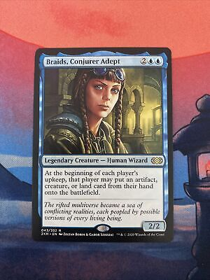 Magic the Gathering MTG Braids, Conjurer Adept Double Masters NM