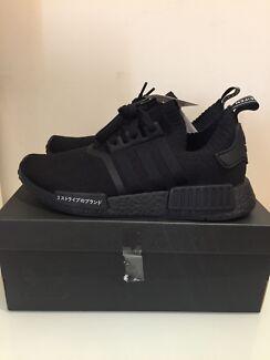 Adidas NMD PK Japan Triple Black US8