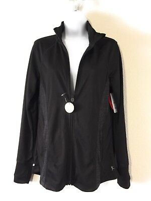 Danskin Now Women's Full Zip Performance Jacket  Size (Danskin Now Womens Full Zip Performance Jacket)