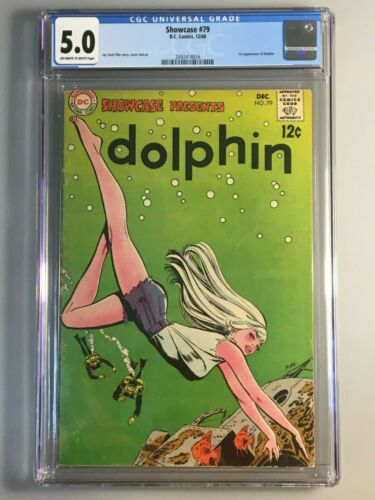 SHOWCASE 79 - CGC 5.0 -💥1ST APPEARANCE OF DOLPHIN 💥 Iconic Cover