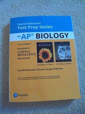 Test Prep Series AP Biology for Campbell Biology Programs Paperback 2017 Pearson (Ap Biology Test Prep)