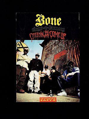 BONE THUGS Easy E Rap EP Creepin' Release Mailed 1994 Des Plaines Postcard