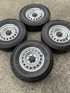 4x 255/70R16 TOYO A/T tyres 98% tread with wheels Virginia Brisbane North East Preview