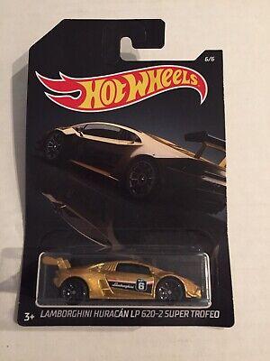 Hot Wheels Exotics Lamborghini Huracan LP 620-2 Super Trofeo Walmart Exclusive