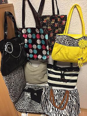 35 Damen Handtaschen Taschen gemischt NEUWARE Flohmarkt Restposten Sonderposten