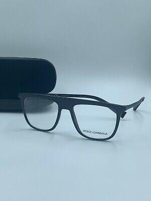Authentic Dolce & Gabbana Eyeglasses DG 5022 501 Black, Size 51-17 FAST (Dolce And Gabbana Eyeglasses For Men)