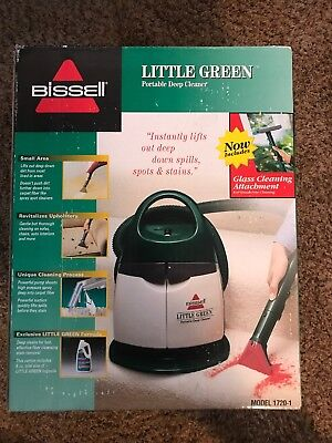 (Bissell Little Green portable deep cleaner In Excellent Condition-barely Used)