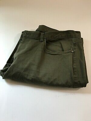 brooks brothers mens pants 40 x 32 Casual  Cotton Army Green