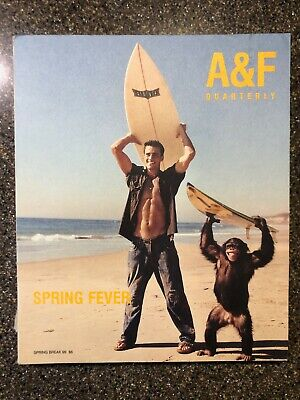 Abercrombie & Fitch AF quarterly Spring Break 1999