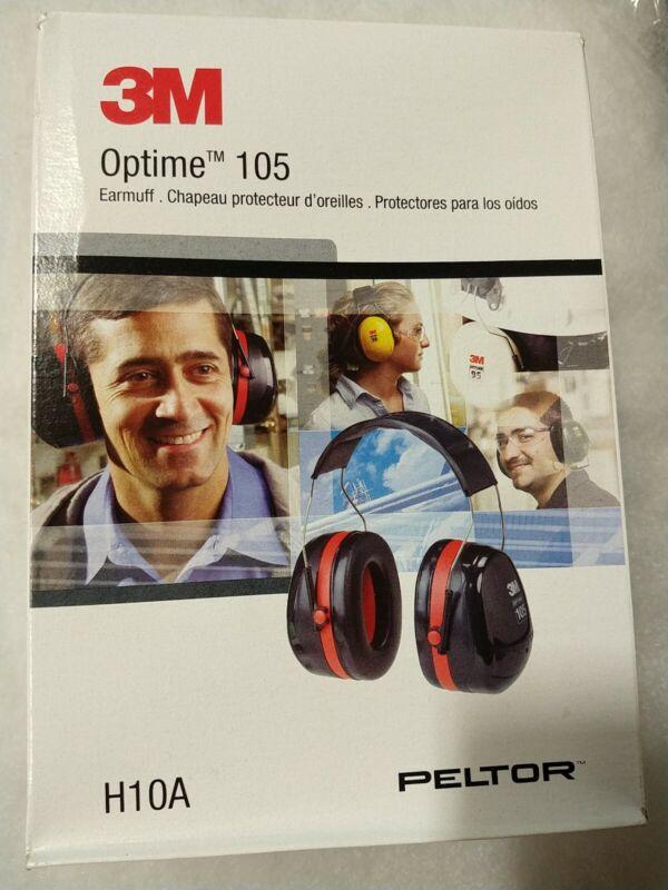 3M PELTOR Optime 105 Over The Head Earmuffs (H10A)