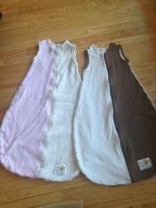 Organic sleep sacks for baby