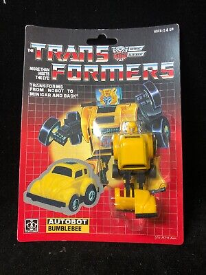 Transformers Autobot Bumblebee 5701/5711 NOS Re-Issue Free Shipping