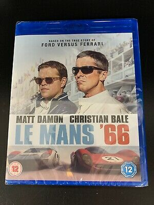 Le Mans 66 (Ford vs. Ferrari) - Blu Ray - Brand New & Sealed