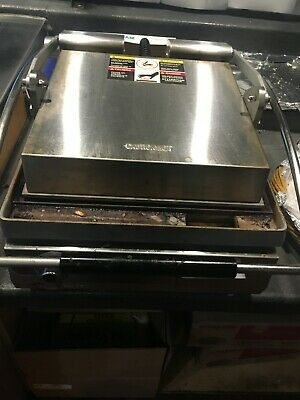 Star Pst14 Commercial Sandwich Press W Aluminum Smooth Plates 120v