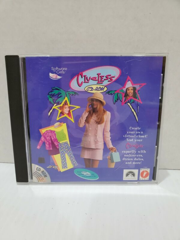 """""""Clueless"""" PC Game CD-ROM 1997"""