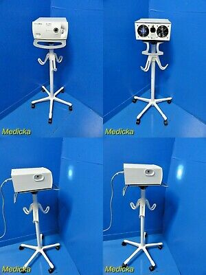 Welch Allyn 90123 Cl300surgical Light Source Illuminator W Carrying Stand18434