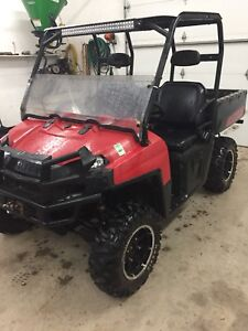 2009 Polaris Ranger 700 XP, 1850 Miles