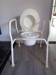 3 IN ONE ADJUSTABLE OVER THE TOILET/ COMMODE / SHOWER CHAIR Caboolture Caboolture Area Preview