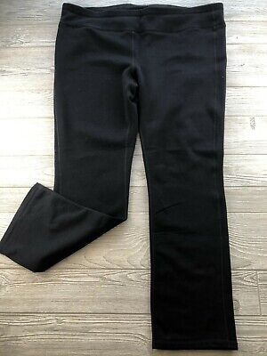 *Athleta womens  black Sweat Pants plus size 2X Yoga Casual Comfy