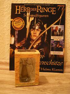 Herr der Ringe-Figur : Elben-Bogenschütze i.Helms Klamm (Nr. 77) in OVP+Heft