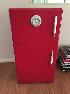 Bookcase - Red Wooden Retro Fridge Banksia Grove Wanneroo Area Preview