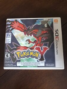 pokemon x and y nintendo 3ds game