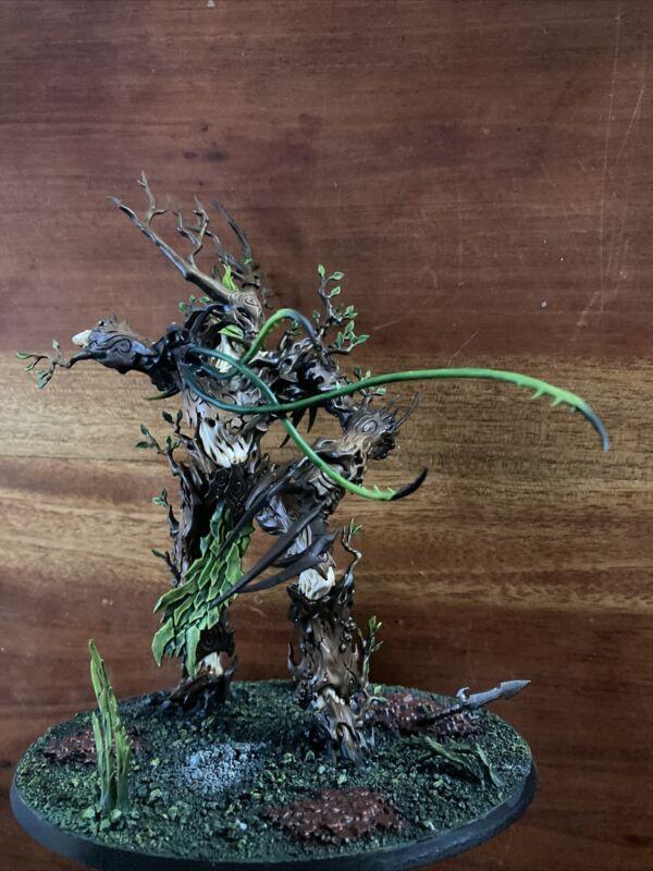 Warhammer Fantasy Age Of  Sigmar Sylvaneth Army Treelord Painted Games Workshop