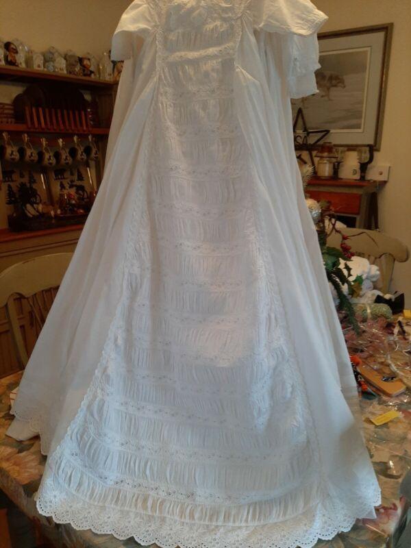 Exceptional Vintage Christening Dress