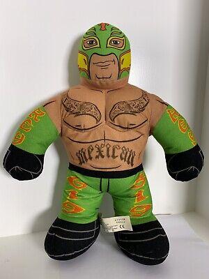 """2011 WWE Rey Mysterio Plush Talking Wrestler Doll Brawlin Buddies 16"""""""