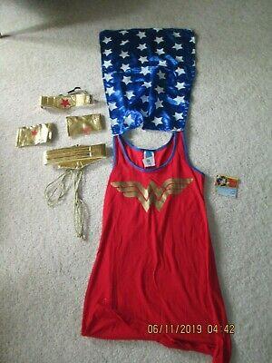 NEW- Women Wonder Woman Halloween Costume - Medium  - Wonder Woman Halloween Costume For Women
