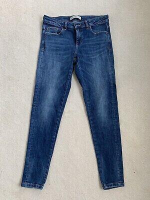 Zara Blue Skinny Jeans Size 38 (10)