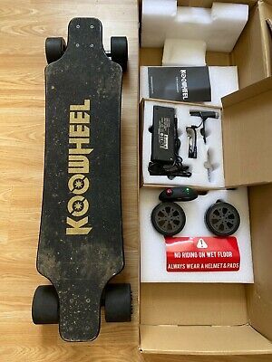 Koowheel D3M 2nd Generation Electric Skateboard |Used-Good Condition | UK Seller
