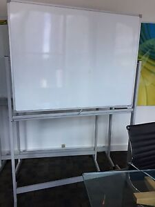 Mobile whiteboard magnetic double sided North Sydney North Sydney Area Preview