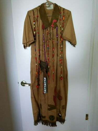 Vintage 1930s Camp Fire Girls Ceremonial Gown